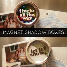 Magnet Shadow Boxes / Snow Globes - Becoming Martha