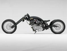 vintage(ish) bike of the day: 1951 vincent black shadow chopper Vincent Motorcycle, Motorcycle Bike, Custom Choppers, Custom Bikes, Sidecar, Vincent Black Shadow, Motos Harley Davidson, Cool Motorcycles, Vintage Motorcycles