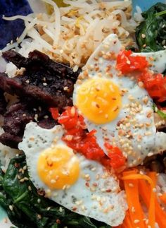 Quail Egg Bibimbap With Steak - An Incredible Korean Recipe