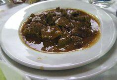 Lengua de cerdo ibérico en salsa del Mesón El Tabanco | Cosas de comer