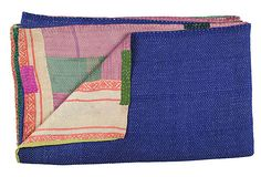 Hand-Stitched Kantha Throw, Lily on OneKingsLane.com