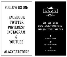 FOLLOW US!  HELP SPREAD THE WORD, HELP SPREAD THE LOVE! Cat Store, Lazy Cat, Follow Us, Pet Furniture, Words, Business, Youtube, Instagram, Store