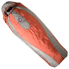 Sleeping bag. For cold weather sleeping outdoors. A lighter one might be necessary for quick getaway.