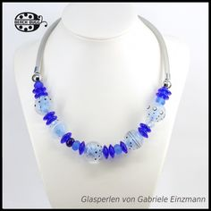 Gabi surgical steel mesh necklace for beads. The middle wire with beads is interchangeable.