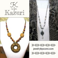 """Shop now - everything is on sale at 15% off. Click here: https://www.etsy.com/shop/JewelryByScotti .... Kazuri beads are handmade, hand-painted ceramic beads from Nairobi, Kenya. Kazuri, which means """"small and beautiful"""" in Swahili, began in 1975 as a tiny workshop. Each Kazuri bead is shaped carefully, polished, fired, painted and fired again. Kazuri is a member of the World Fair Trade Federation (WFTO), an internationally recognized organization which authenticates fair wages and safe…"""
