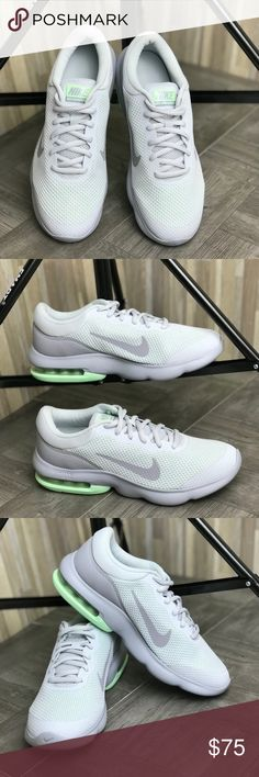 NWT Nike Air Max Advantage WMNS Brand new, no box, sample shoes. Price is firm! No trades.                                        *Mesh construction delivers breathable support *Foam midsole with visible Max Air unit provides lightweight cushioning *Outsole with rubber pods for durability and traction Nike Shoes Sneakers