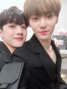 Wanna-One - Guanlin and Minhyun 3 In One, One And Only, Jaehwan Wanna One, Guan Lin, Lai Guanlin, Happy Birthday To Us, My Destiny, Kim Jaehwan, Ha Sungwoon