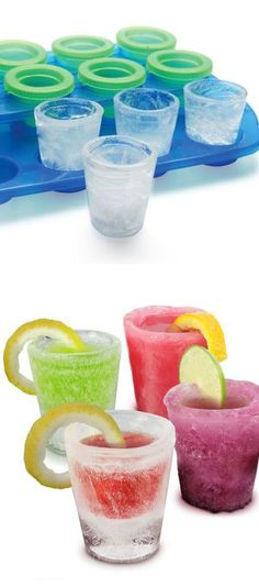 Ice Shot Glasses //