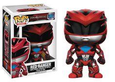POP POWER RANGERS MOVIE RED RANGER VINYL FIG