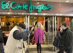 el corte ingles--man I used to spend some cash there! :)