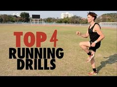 Top 4 Running Drills: Improve Form & Run Faster - YouTube