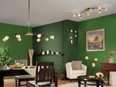Pareti A Righe Verdi : Fantastiche immagini su pareti colorate colors wall design