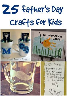 25 Father's Day Crafts for Kids