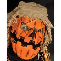Smashing Jack is a pre-painted latex Halloween sock mask. This pull over the head Halloween mask by Zagone Studios features a moving mouth for an impressive addition to your costume. Includes one pre- Halloween Masks For Sale, Wholesale Halloween Costumes, Halloween Socks, Halloween Decorations, Halloween Ideas, Scarecrow Mask, Halloween Scarecrow, Pumpkin Head Mask, Haunted Maze