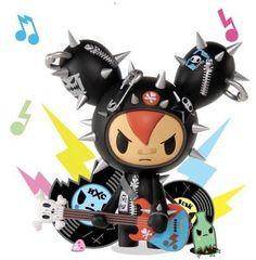 Cactus Rocker Red Designer Vinyl Figure Simone Legno Tokidoki   eBay