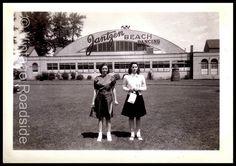 Family photo from June, 1941. A day at Jantzen Beach Amusement Park in Portland, Oregon.