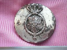 Liverybutton of Archduke Eugen of Austria-Teschen Grand Master of the Teutonic Order. Archduke, Holy Roman Empire, The Grandmaster, Lorraine, Austria, Coins, Personalized Items, House, Gotha