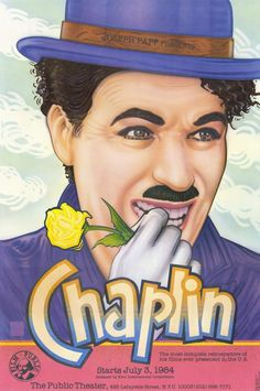 Charlie Chaplin Retrospective 11x17 Movie Poster