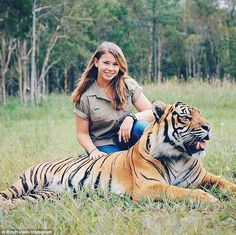 Legacy: Bindi has followed in her father's footsteps with her conservation efforts and TV career