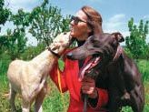 Susan Netboy, founder of Greyhound Protection League, and longtime Greyhound advocate.