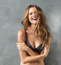 Behati Prinsloo Models the T-Shirt Bra for Victoria's Secret
