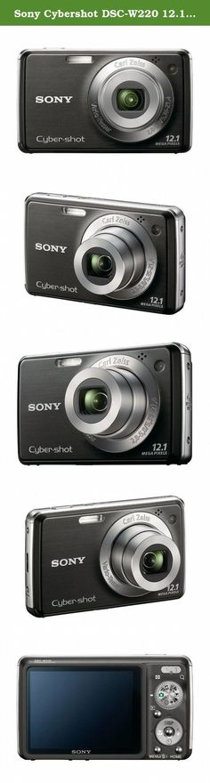 Sony Cybershot DSC-W220 12.1MP Digital Camera with 4x Optical Zoom with Super Steady Shot Image Stabilization (Black). It's never been easier to capture happy faces thanks to Smile Shutter technology. Simply choose the Smiley Face icon and the camera does the rest. You can even select subject priority and indicate the degree of Smile Detection Sensitivity. Face Detection technology detects up to eight individual faces and controls flash, focus, exposure and white balance to deliver…