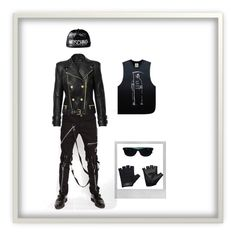 """""""#5"""" by rainman-393 ❤ liked on Polyvore featuring Casall, UNIF, Moschino, Ray-Ban, Polaroid, women's clothing, women's fashion, women, female and woman"""