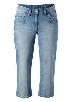 Cheer Caprijeans im Online Shop von Ackermann Versand Capri Jeans, Blue Denim, Blue Jeans, Denim Jeans, Im Online, The Shins, Cheer, Legs, Casual