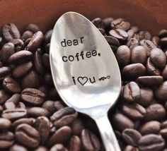 Dear coffee...via Etsy