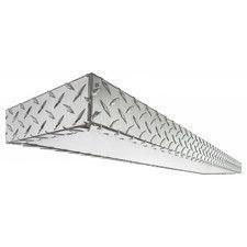 Diamond Plate 2 Light Decorative Linear  sc 1 st  Pinterest & Chrome Diamond Plate plastic sheets for walls | Diamond Plate ...