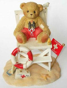 My Teddy Bear, Cute Teddy Bears, Polymer Project, Cow Decor, Best Christmas Cookies, Clay Figurine, Boyds Bears, Love Bear, Cold Porcelain