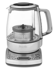 Breville One-Touch Tea Maker #WilliamsSonoma This is the best tea maker especially for loose leaf teas. We really enjoy Teavana and this teamaker makes it so easy to enjoy!