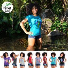 T-shirt femme Minnie - Capteur de Rêves - Bassin La Réunion
