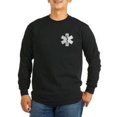 Star of Life Long Sleeve Dark T-Shirt