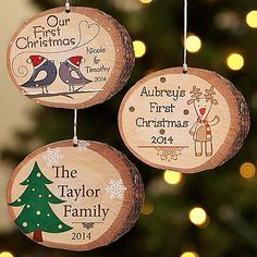 Great idea! I have tree slices I can do this with!
