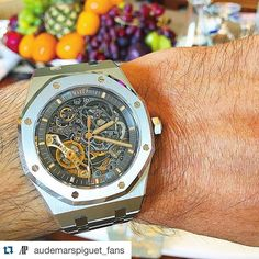 #Repost @audemarspiguet_fans with @repostapp.  _____________________________________________________ Courtesy of @watchs.qatar _____________________________________________________  All credits goes to photographer/ owner  Tag your photos with: #audemarspiguet_fans #audemarspiguet #ap #audemars #piguet #experience #watch #ap_gallery #luxury #platinum #chronograph #tourbillon #gold #offshore #chrono #gallery #bezel #crystal #diamond #tradition #timepiece #royaloak…