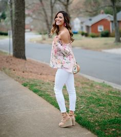 I wanted to let you all know that my favorite top is now available for preorder from Revolve! It sold out so fast last time so make sure you grab it. I linked another top that looks very similar but with different colors that I love just as much! Also how cute are these lace up espadrilles?? They also come in 2 other colors  Everything is linked for you via @liketoknow.it http://liketk.it/2qSCP #LTKStyleTip #liketkit