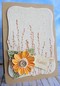 Autumn in the Air by Stamping and Stitching