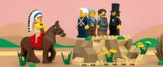 Here Are Mini LEGO Stereotypes Of All 50 States