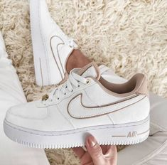 Dr Shoes, Cute Nike Shoes, Cute Nikes, Hype Shoes, Cheap Shoes, Beige Nike Shoes, Nike Shoes For Women, Cool Womens Sneakers, Converse Shoes