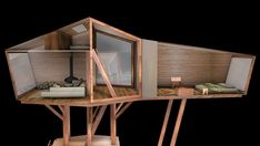 Antony Gibbon's Inhabit Treehouse Lets You Sleep High Up in th...
