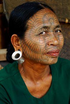 Myanmar | Chin woman