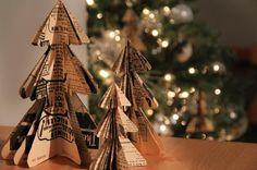 #DIY Mini árboles de #Navidad. ¡Hazte tu bosque en casa!