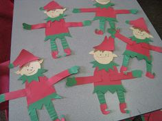 Mrs. Russell's Class: Elf Activities