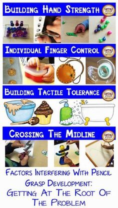 Capitals First! by Print Path: Part Factors Interfering With Pencil Grasp Development: Addressing The Root of the Problem Fine Motor Activities For Kids, Motor Skills Activities, Gross Motor Skills, Preschool Learning, Teaching, Early Learning, Occupational Therapy Activities, Physical Activities, Movement Activities