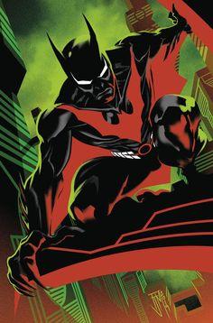 Batman Beyond Debuts Neo-Gotham's Batwoman of the Future Nightwing, Batwoman, Batgirl, Batman Beyond Suit, Batman Beyond Terry, Batman Comic Art, Batman And Superman, Batman Robin, Funny Batman