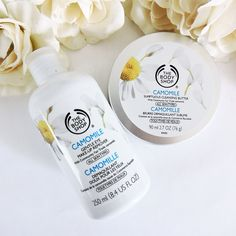The Body Shop Camomile Cleansing Butter and Eye Makeup Remover