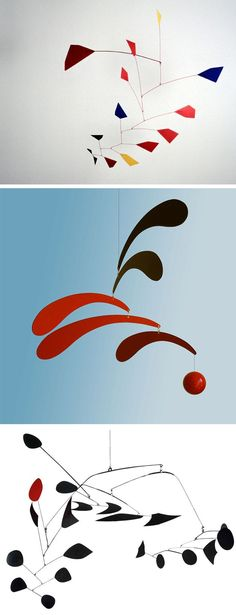 Alexander Calder - memories of school field trip to Guggenheim to see his mobiles/stabiles