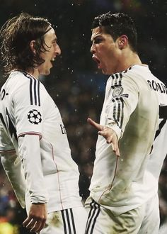 Modric y Cristiano