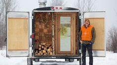 The Coolest Sauna (on Wheels) We've Ever Seen | Outside Online